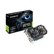 Gigabyte Graphics Cards GV-N75TWF2OC-4GI GTX 750 Ti WindForce 4 GB New