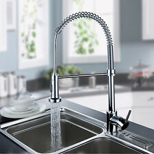 Style  Out Kitchen Spring Faucet Swivel Spout Home Decor Chrome