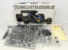 Tamiya Grand Prix Collection Team Lotus JPS Mk III Model Kit 1:20 Scale #2004