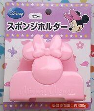 Disney Minnie Sponge Holder Kitchen Sink Suction Orgnizer Draining Kitchen Rack