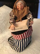 "Artist Sheena Macleod ""Fishwife� Doll from Scotland"