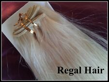 "HUMAN WEAVE/WEFT HUMAN HAIR EXTENSION 20"" 100G  #60 STRAIGHT REMY HAIR WEFT"
