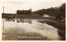 Stamford Pond Epsom unused RP pc Ref A301