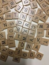 SCRABBLE Individual Wooden Tiles for Regular Edition (Sold separately)