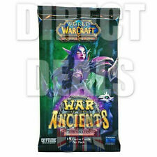 WOW TCG LOOT ? World of Warcraft - War Of The Ancients Booster Pack - UK Seller
