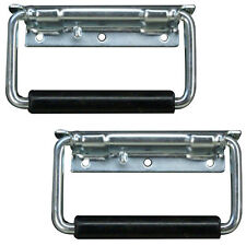 Road Case Handle 2 pc surface mount zinc plated for Amp Racks speaker cabinets