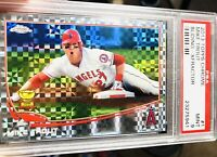 2013 Topps Chrome #1 X-Fractor Mike TROUT Angels All Star ROOKIE CUP PSA 9 MINT!
