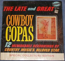 The Late And Great Cowboy Copas Nashville Starday LP Record NLP 2013 Shrink Wrap