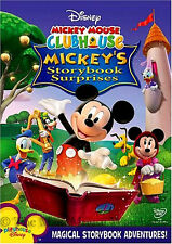 Disney Mickey Mouse Clubhouse Mickey's Storybook Surprises Fairy Tales on DVD
