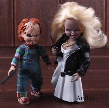Child's Play Bride of Chucky Doll Chucky & Tiffany PVC Horror Action Figures