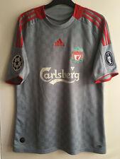 Adidas Liverpool Alonso Champions League Away Shirt 2008-2009 / Medium
