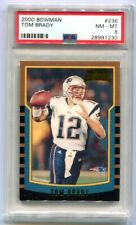 2000 Bowman Tom Brady Rookie #236 PSA 8 NM-MT (CBF)