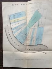 New ListingMap of Louisiana Land Grants 1834