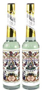 2 x Murray & Lanman Florida Water Cologne New York 7.5oz (221 ml)
