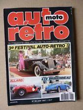 Auto Retro N° 82, Allard J2, J2X, Aston Martin DB6, Facel Vega se, Graham-Pai