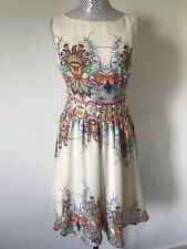 Lady Vintage Limited Edition Floral Tea Dress UK 16 New With Tags occasion