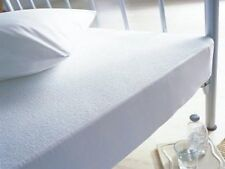 Caress Terry Towelling Waterproof Mattress Protector Single Bed, 90x190x 32 cms