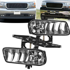 for 1999-2002 GMC Sierra/2001-2006 GMC Yukon Replacement Bumper Fog Lights Lamps