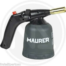 SALDATORE A GAS A CARTUCCIA IN METALLO Accensione piezoelettrica MAURER 96165