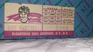 Vintage Madame Alexander Baby McGuffy Doll Mint