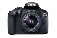 Canon EOS Rebel T6 Digital SLR Camera with 18-55mm IS II Lens BRAND NEW