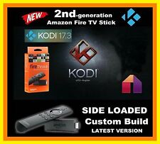 Amazon Fire Stick TV w/ Alexa Voice - 2nd Gen Quad Core -- Custom Build 17.3 ---