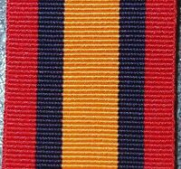 QUEEN'S SOUTH AFRICA MEDAL RIBBON MEDAL REPLACEMENT MOUNTING QSA BOER WAR