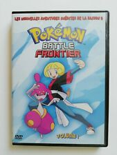 Pokémon: Battle Frontier. DVD. Saison 9, Vol 1.