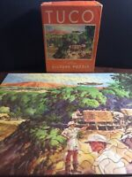 "Vintage TUCO Puzzle """"SKYWAYS TO THE BATTLE FRONT"" *Complete* War Military"