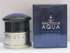 Nautilus Aqua by Nautilus For Men 3.3 oz Eau de Toilette Spray New In Box Sealed