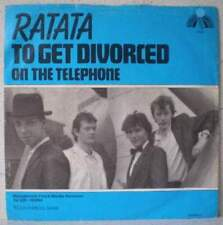 "RATATA To get divorced RARE 7"" 1981 pop HOLLAND Jan Rot"