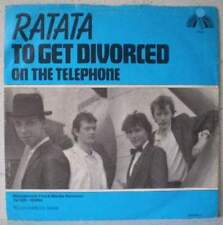 "RATATA To get divorced RARE 7"" 1981 pop HOLLAND Jan Rot"