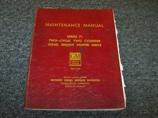Detroit Diesel 71 Series Engine 1-71 2-71 3-71 4-71 6-71 Service Repair Manual