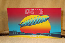 """Led Zeppelin Rock and Roll Poster Tabletop Standee 10 1/2"""" X 6"""""""