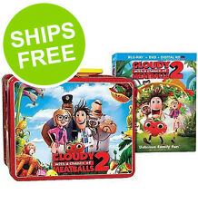 Cloudy with a Chance of Meatballs Blu-Ray + DVD + Collectors Lunch Box, SEALED