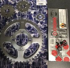 15/16/45 Sprocket And Chain Set To Suit Honda Ct110 Pre 1999 Postie Bike