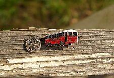 Thomas Built Bus Metal & Enamel Lapel Pin Pinback Tradition in Transportation