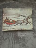 Currier & Ives The ROAD, - WINTER. Springbok 500+ piece puzzle.