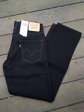 New With Tags LEVI'S 550 Men's Black Denim Jeans Size 30 x 32 Levis
