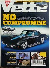 Vette Nov 2017 No Compromise Split Windows Performs Pace Car FREE SHIPPING sb