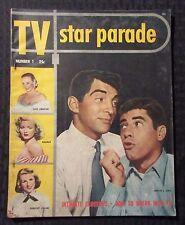 1951 TV STAR PARADE Magazine #1 VG 4.0 Jerry Lewis & Dean Martin Cover - Dagmar