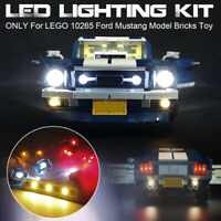 USB LED Light Lighting Kit Only For LEGO 10265 For Ford Mustang Model Bricks