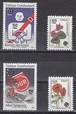 Turkey Scott 2477-80 Mint NH (Catalog Value $29.75)