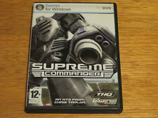 Supreme Commander: Forged Alliance PC Game Complete in Box