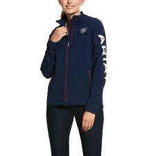 Ariat ® Damas ágil 2.0 Equipo Azul Marino y Rojo Softshell Jacket 10030423