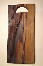 Handcrafted Natural Cut Wooden Chopping Board Rustic Serving Platter
