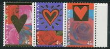 Australian Stamps: 1995 St Valentine's Day Roses - Set of 3