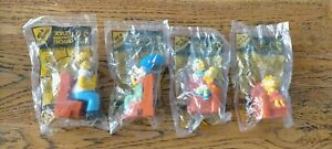 Complete Set 4* New Hungry Simpsons Characters Collectable Figurines