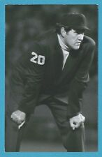 Lee Weyer 1978 Vintage Baseball Umpire Postcard