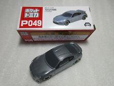 Toyota 86 Ice Silver Pocket Tomica P049 Tomy Taito Nib